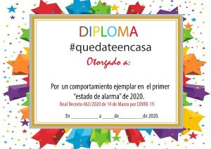 diploma quedate en casa 14 300x212 - 127 RETOS DIVERTIDOS PARA NIÑOS EN CASA GIMNASIA Y ACTIVIDADES PARA JUGAR