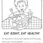 pack dibujos para colorear salud