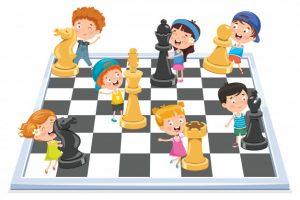 ajedrez juego de mesa para niños