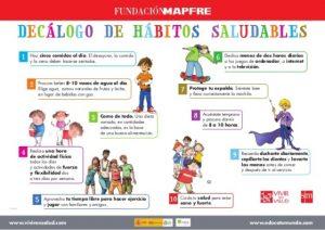 MAPFRE HABITOS SALUDABLES 300x212 - HÁBITOS SALUDABLES NIÑOS PARA CRECER Y ADELGAZAR VIDA SANA