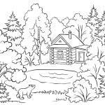 1. dibujos colorear otono ninos paisaje gal 1280x720x80xX 150x150 - PACK COLECCIÓN LIBRO DIBUJOS PARA IMPRIMIR Y COLOREAR PDF FÁCILES INFANTILES PARA NIÑOS PRIMARIA GRATIS PARA PINTAR