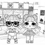 dibujos para colorear LOL doll 150x150 - PACK COLECCIÓN LIBRO DIBUJOS PARA IMPRIMIR Y COLOREAR PDF FÁCILES INFANTILES PARA NIÑOS PRIMARIA GRATIS PARA PINTAR